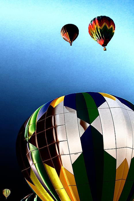 David Patterson - Hot Air Balloon Color