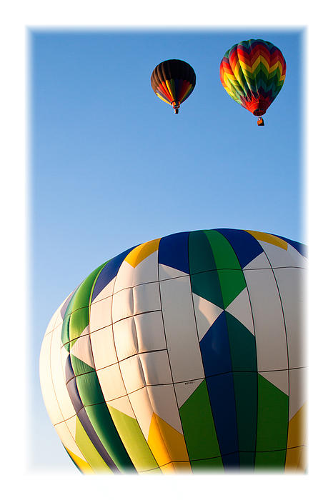 David Patterson - Hot Air Balloon Color II
