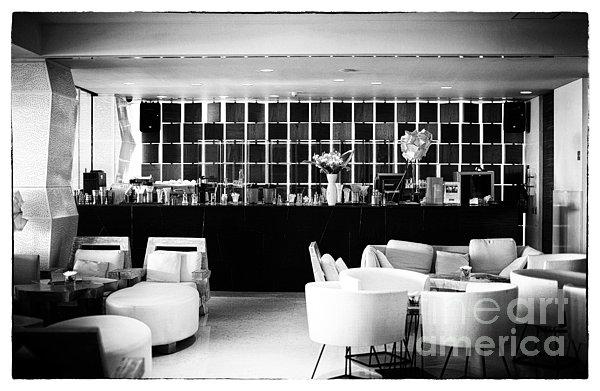 Hotel Bar Print by John Rizzuto