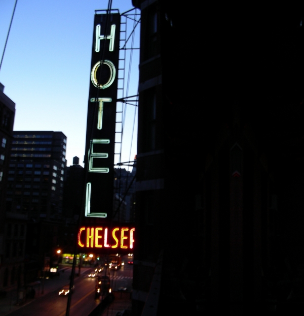Hotel Chelsea Print by Xavier Wasp