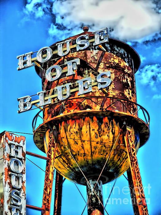 House Of Blues Orlando Print by Corky Willis Atlanta Photography