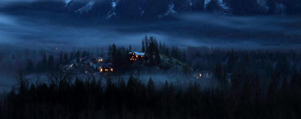 House On Haunted Hill Pemberton Print by Pierre Leclerc Photography