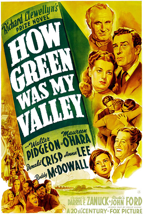 How Green Was My Valley, Donald Crisp Print by Everett