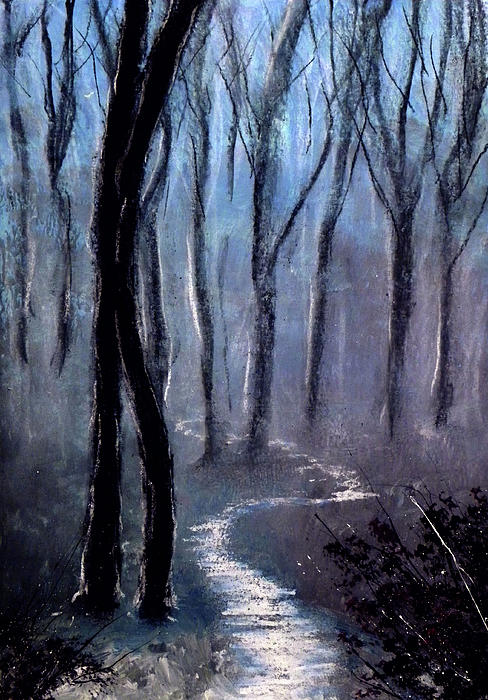 How The Trees Make Little Trees Print by Ricardo Di ceglia