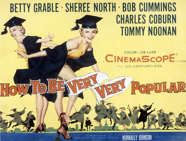 How To Be Very, Very Popular, Betty Print by Everett