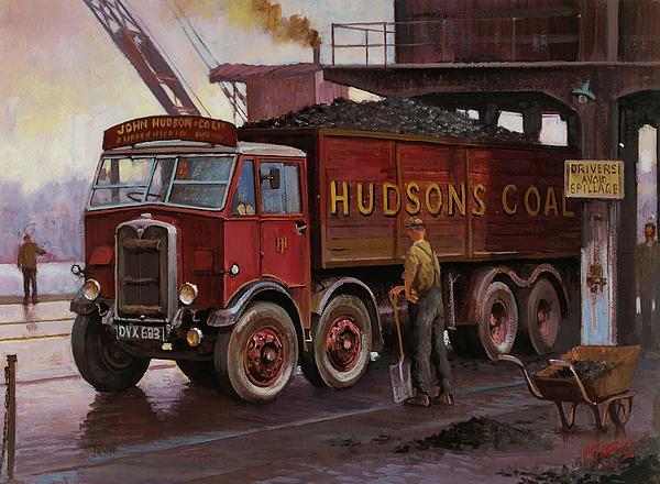 Hudsons Coal. Print by Mike  Jeffries