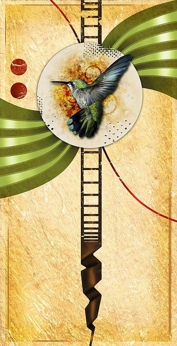 Humming Print by Joshua Dixon