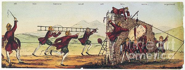 Humpty Dumpty, 1843 Print by Granger