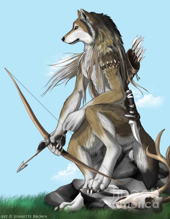 Ashiwariya Tribe of Anthro Wolves •∙ | ∙• Sign-