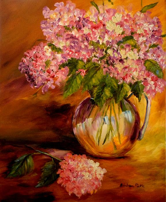 Barbara Pirkle - Hydrangeas from the Garden