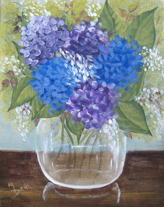 Maureen Diehl - Hydrangeas in Glass