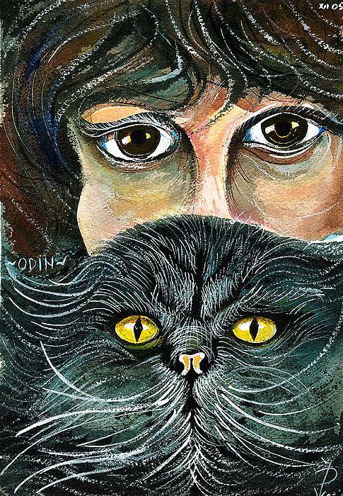 Ion vincent DAnu - Hypnotic Cat Eyes