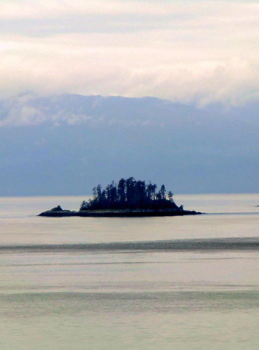 I Am A Rock I Am An Island Print by Mindy Newman