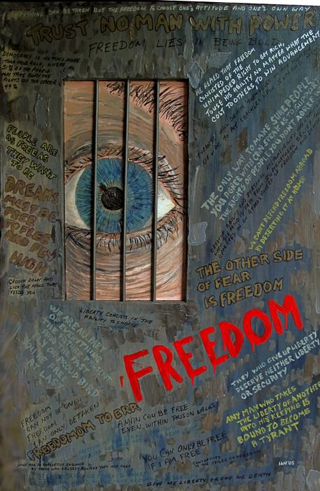 I Can See Freedom Print by Ian Duncan MacDonald