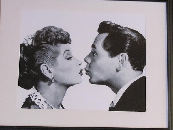 I Love Lucy Print by Shawn Hughes