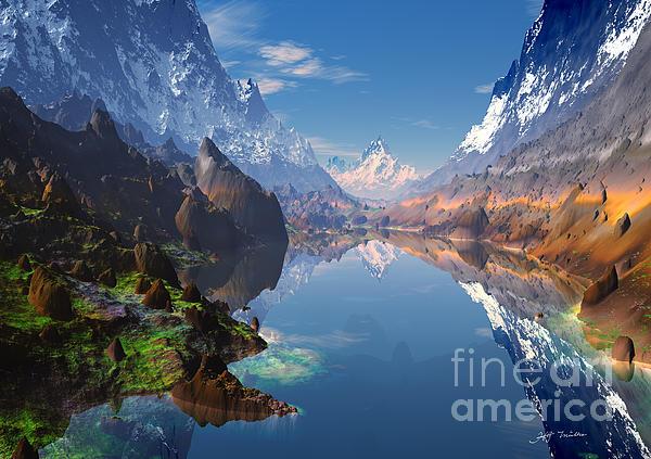 Heinz Mielke - I love the Rocky Mountains