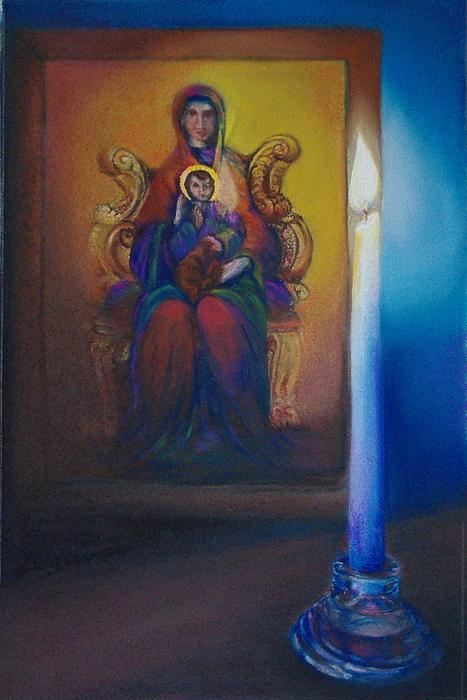 Icon Print by Loueen Morrison