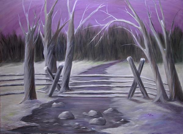 Linda Krider Aliotti - Icy Aftermath