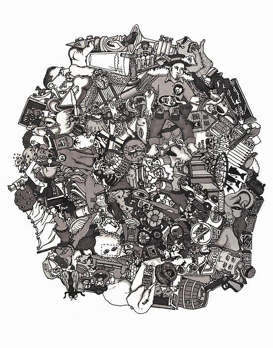 Idiomatic 160 Plus Print by Tyler Auman