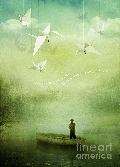If Wishes Were Wings Print by Silas Toball