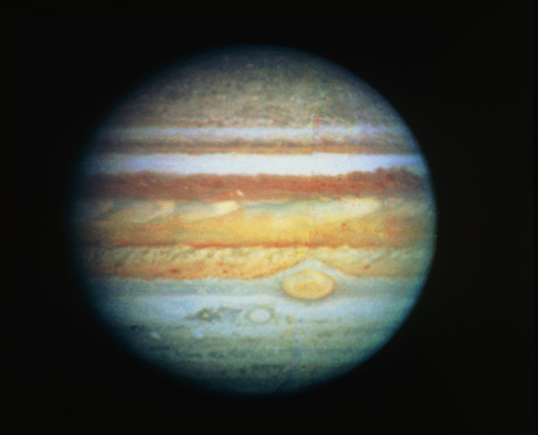 Image Of Jupiter Taken With The Hubble Telescope by ...
