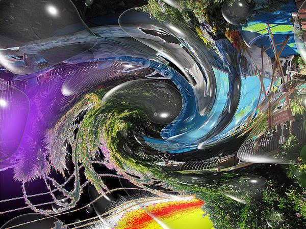 Imagination 2 Print by HollyWood Creation By linda zanini
