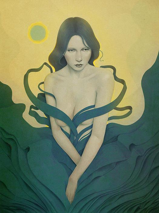 In Bloom Print by Diego Fernandez
