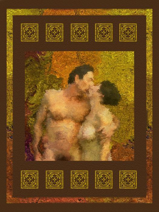 In Love Print by Kurt Van Wagner