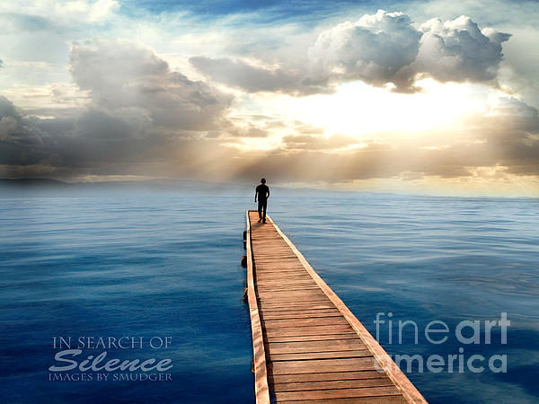 In Search Of Silence  Print by Eugene James