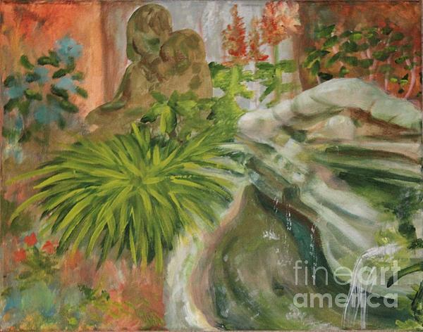 In The Garden Print by Terri Thompson