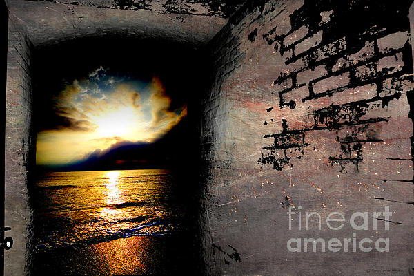In To The Light  Print by Christopher  Ward