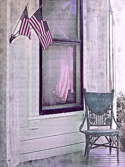 Independence Day Print by Susan Lee Giles