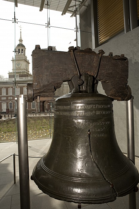 Independence Hall Overlooking Print by Tim Laman