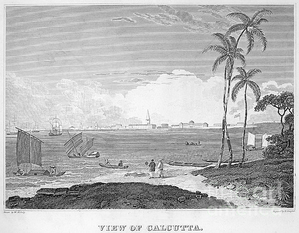India: Calcutta, C1830 Print by Granger