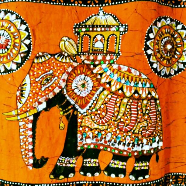 Authentic Batik Indian Bedspreads and Tapestries