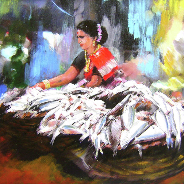 Indian Fisher Women02 By Bhushan Jundre