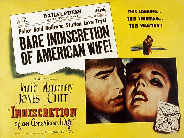 Indiscretion Of An American Wife, Aka Print by Everett