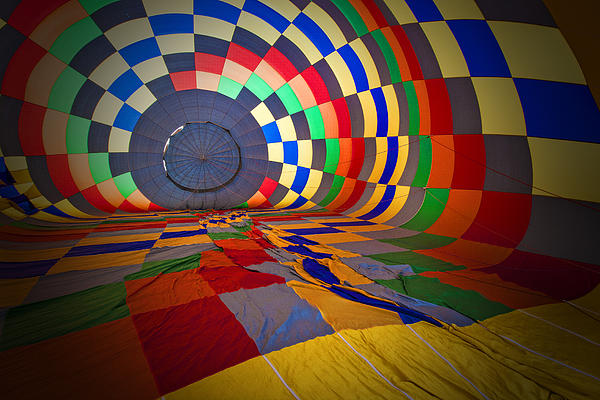Inflating Print by Rick Berk