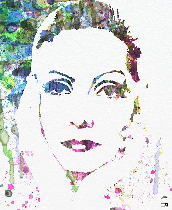 Ingrid Bergman  Print by Naxart Studio