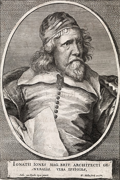 Inigo Jones, British Architect Print by Middle Temple Library
