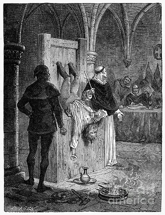 Inquisition: Torture Print by Granger