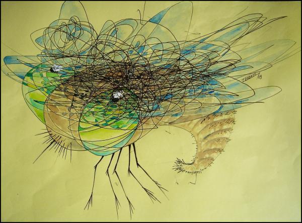 Insect Print by Paulo Zerbato