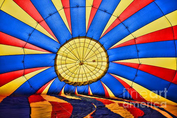 Paul Ward - Inside a Hot Air Balloon