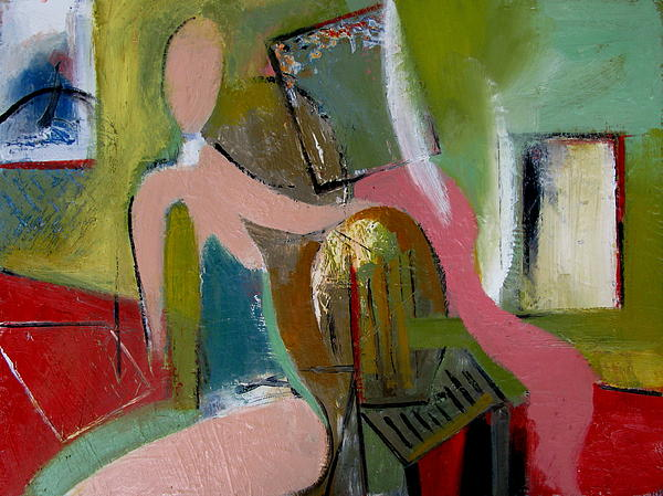 Fred Smilde - Interior with a Figure