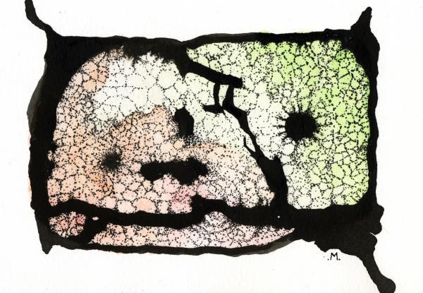 Internal Landscape Two Print by Mark M  Mellon