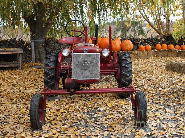 International Harvester Mccormick Farmall Cub Farm Tractor . 7d10305-2 Print by Wingsdomain Art and Photography