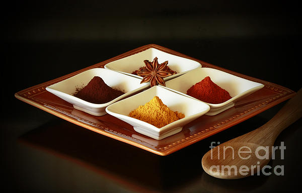 International Kitchen Spices Print by Inspired Nature Photography By Shelley Myke