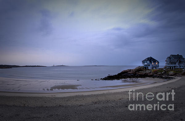 Into The Night In Cape Ann Print by Brenda Giasson
