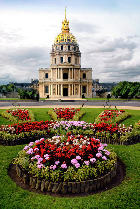 Invalides Paris France Print by Dave Mills