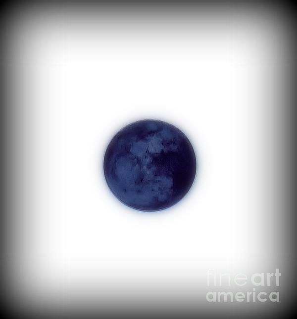 Inverted Moon Print by Elizabeth Hernandez